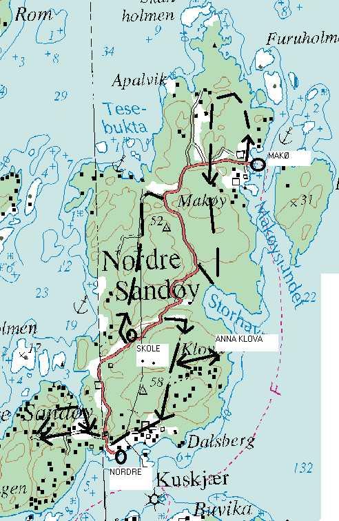 nordre sandøy kart Nordre_Sandøy nordre sandøy kart